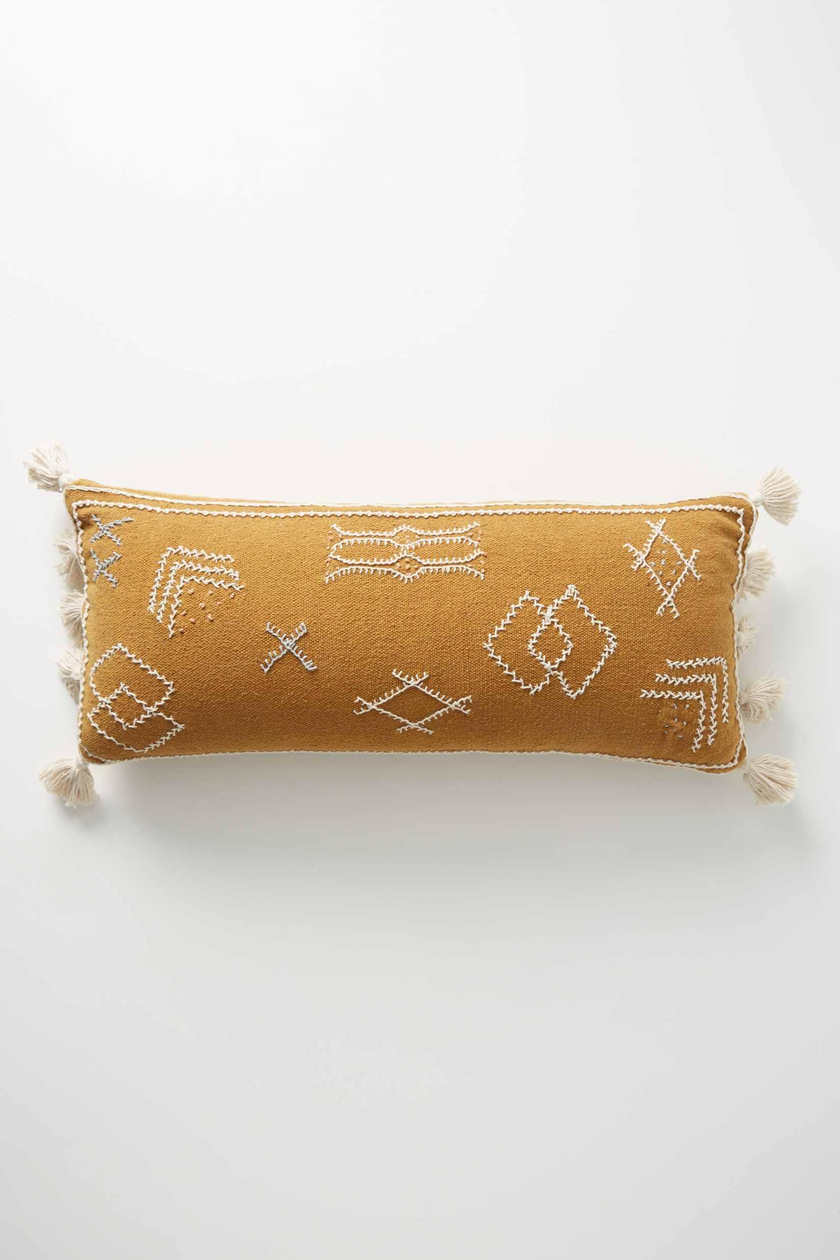 Sadie Pillow in Ochre