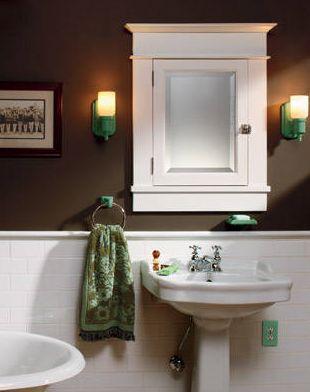 baño principal pequeño