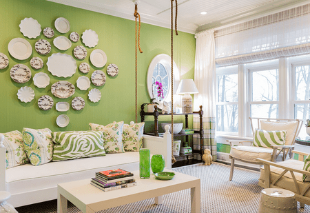 Green Living Room Ideas Impressive White Living Room Ideas