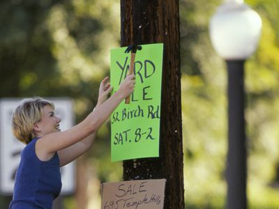 Do's and Don'ts of Planning a Yard Sale