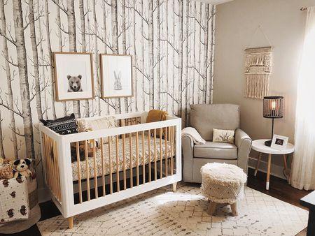 21 Rustic Woodland Themed Nurseries