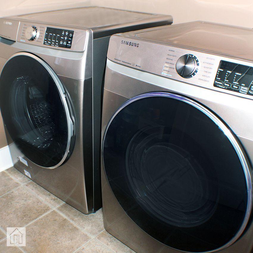 Samsung WF45R6300 Smart Washer and DVE45R6300 Dryer