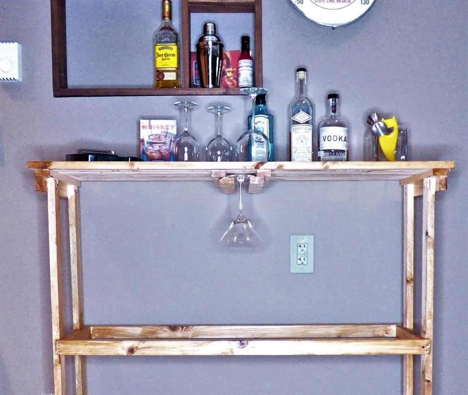 Diy How To Make A Bar Cart