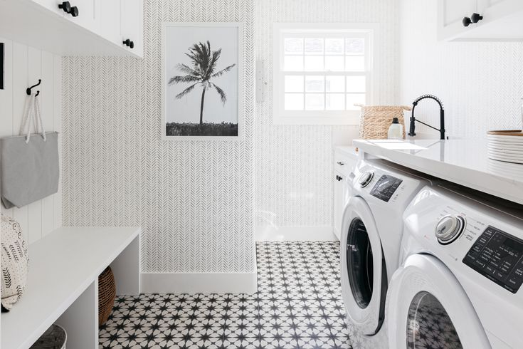 7 Laundry Room Flooring Options, What Is The Best Flooring For A Basement Laundry Room