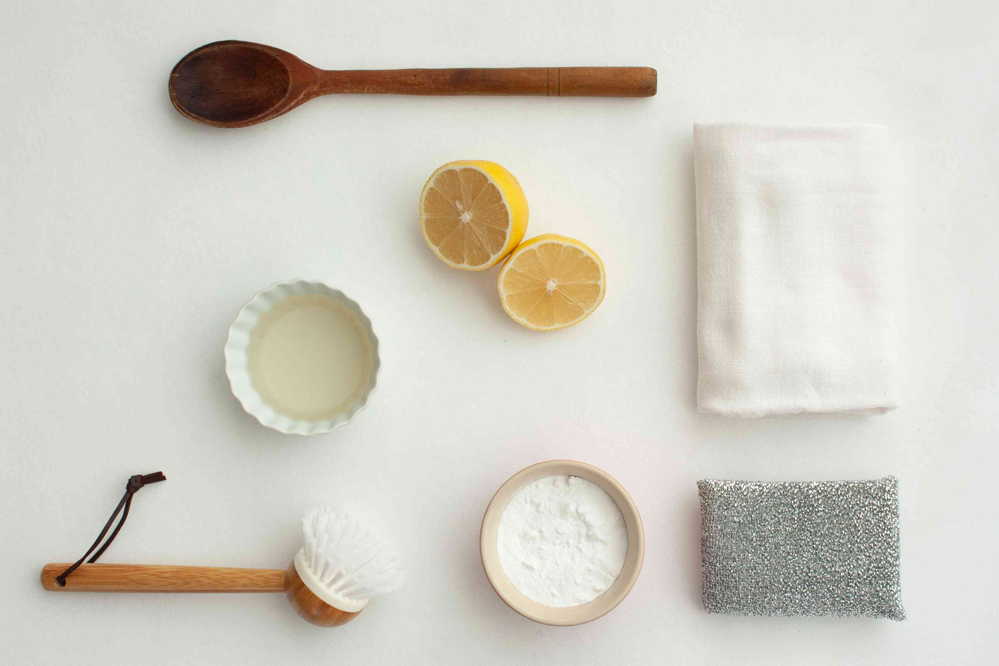 ingredients for cleaning pans