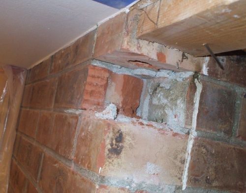 Area After Brick Is Removed
