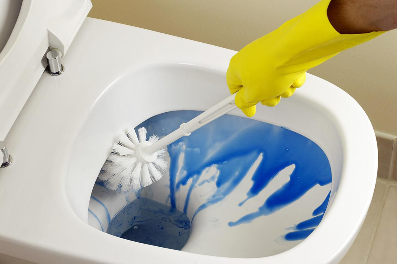 Clean a Toilet the Right Way