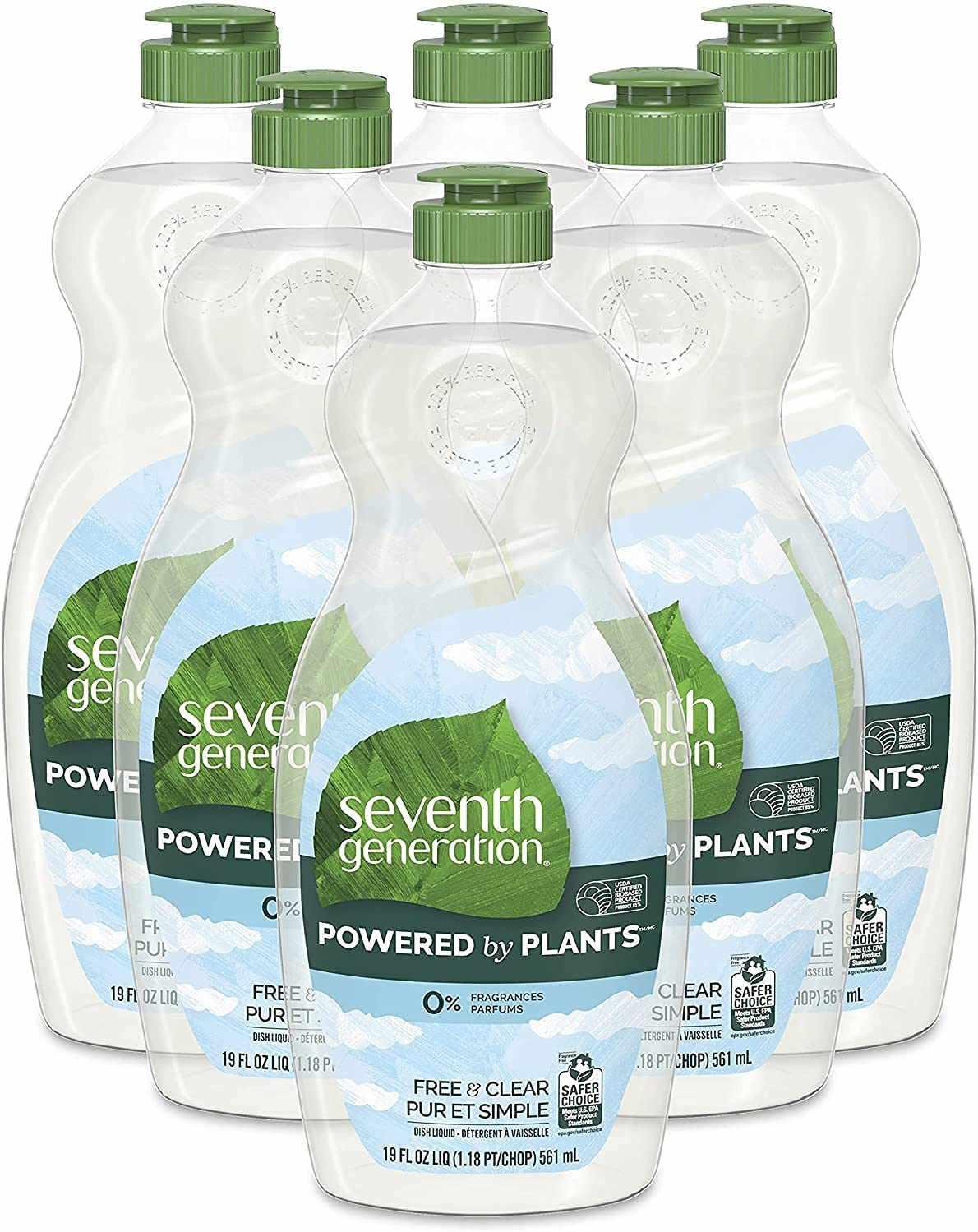 Seventh Generation Free & Clear Liquid Dish Soap