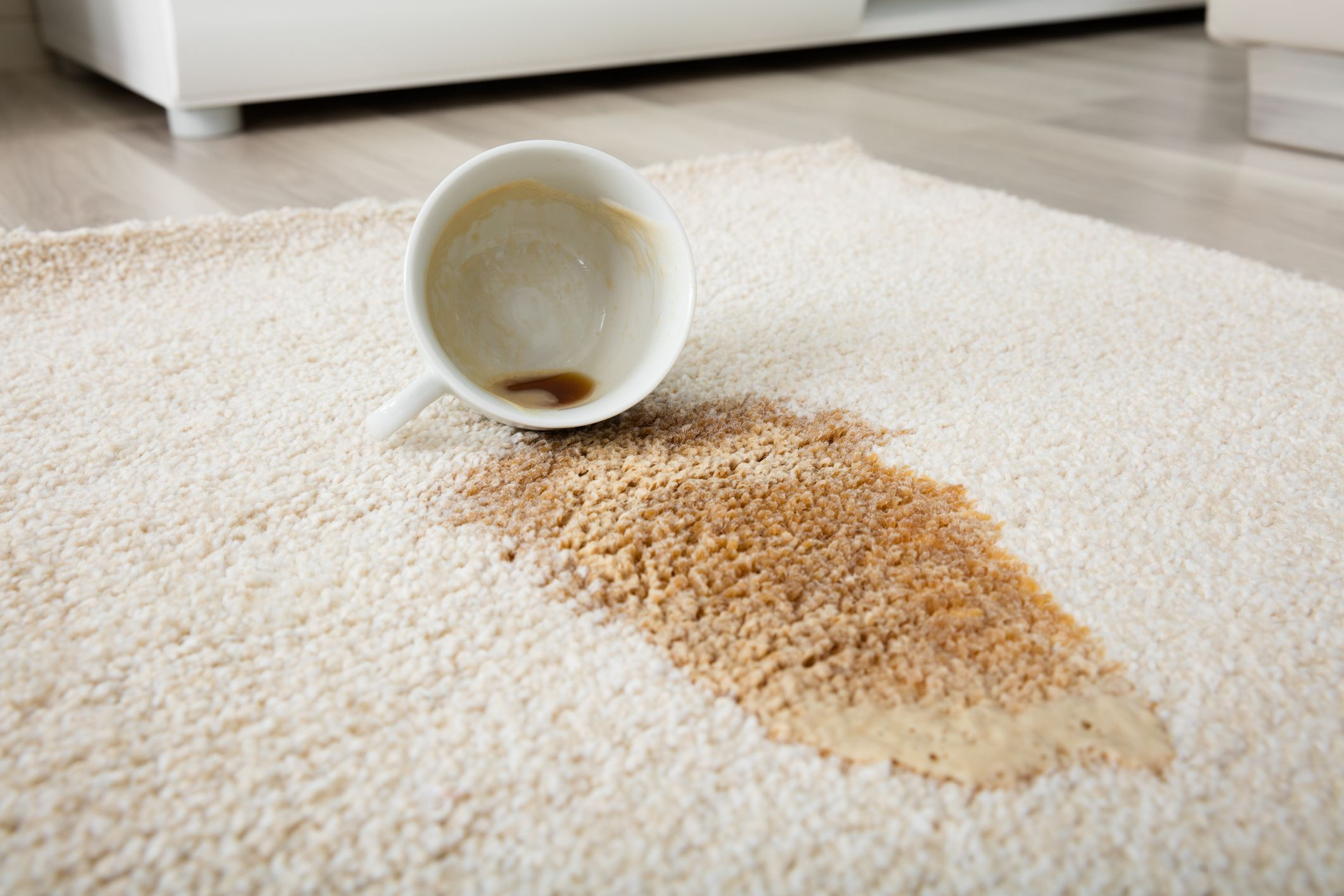 How to Remove Coffee Stains From Carpet
