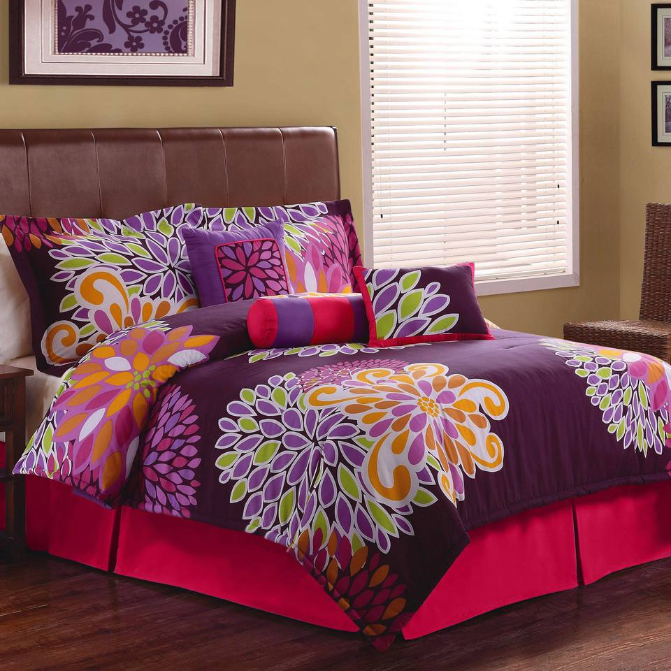 Orange Green Purple Room: Decorating With A Triadic Color Scheme In The Bedroom