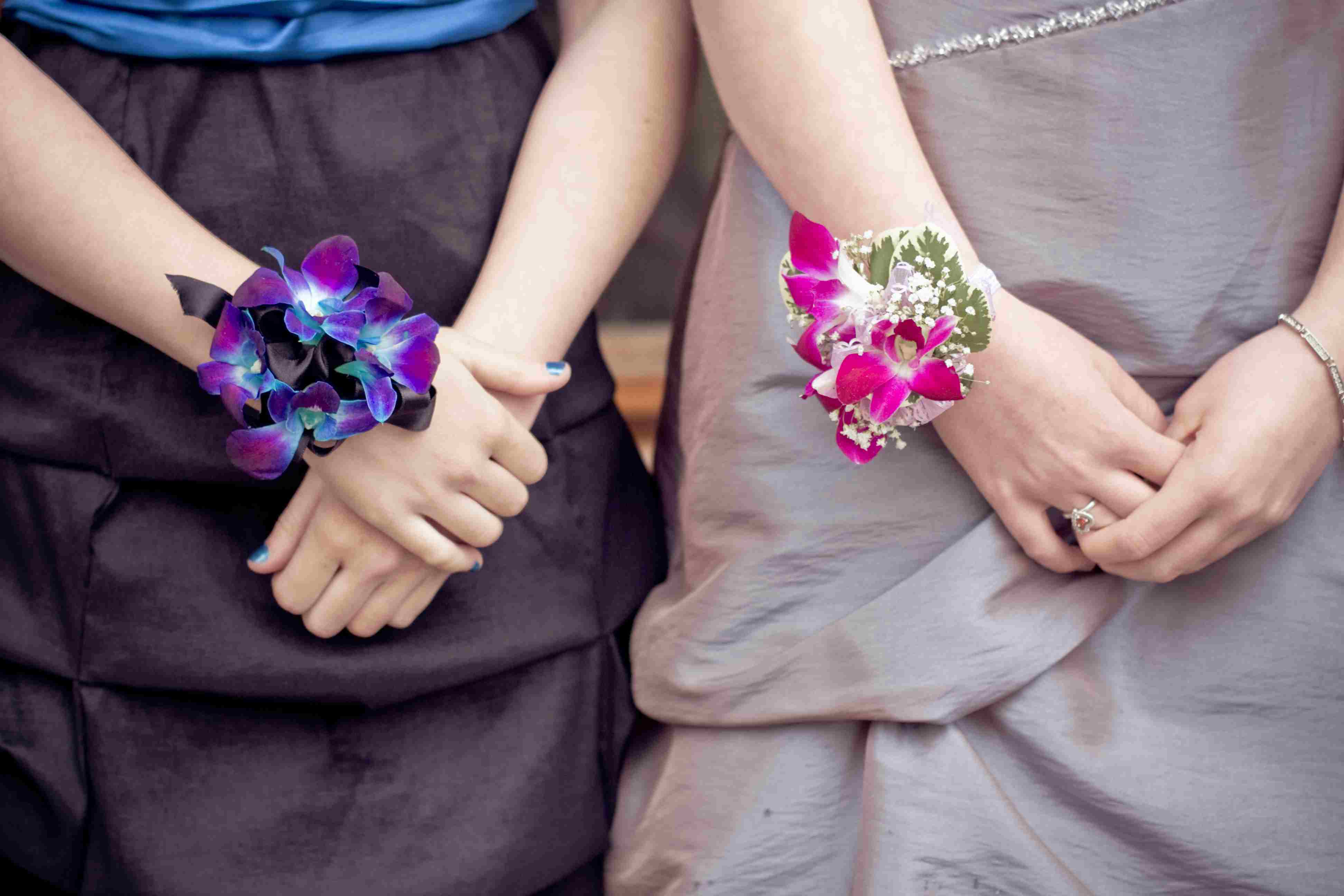Orchid corsages