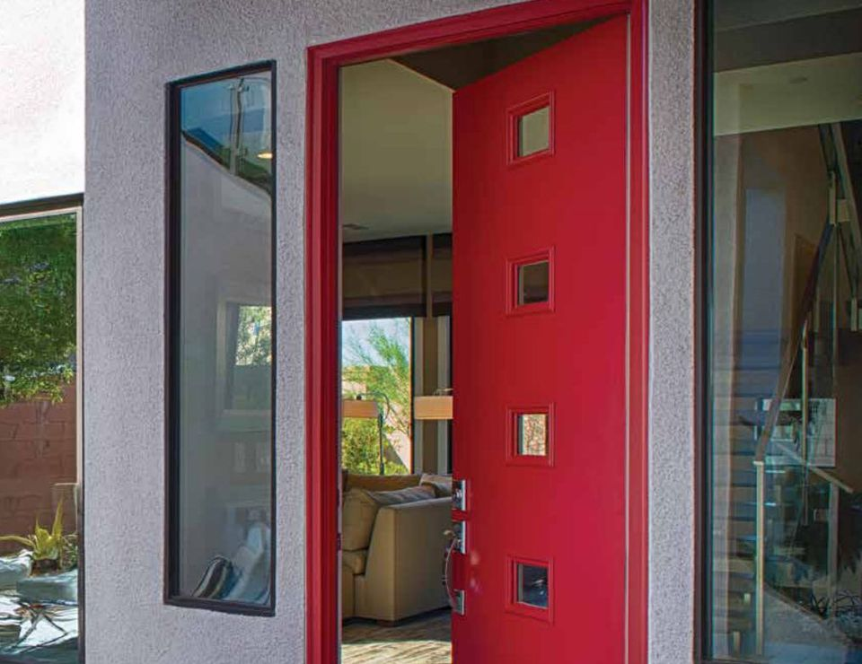 Therma tru pulse fiberglass door for Therma tru front door