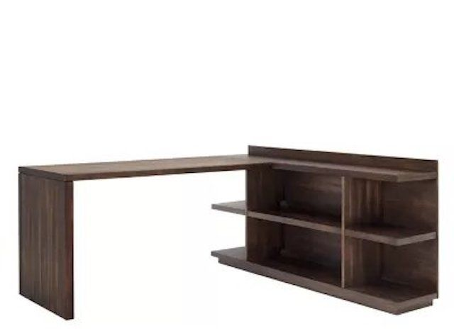 Raymour Flanigan Newell L-Shaped Computer Desk