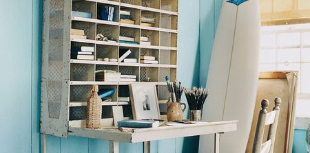 Home Office Colors To Boost Productivity Ralph Lauren Paint Harbor Blues Collection
