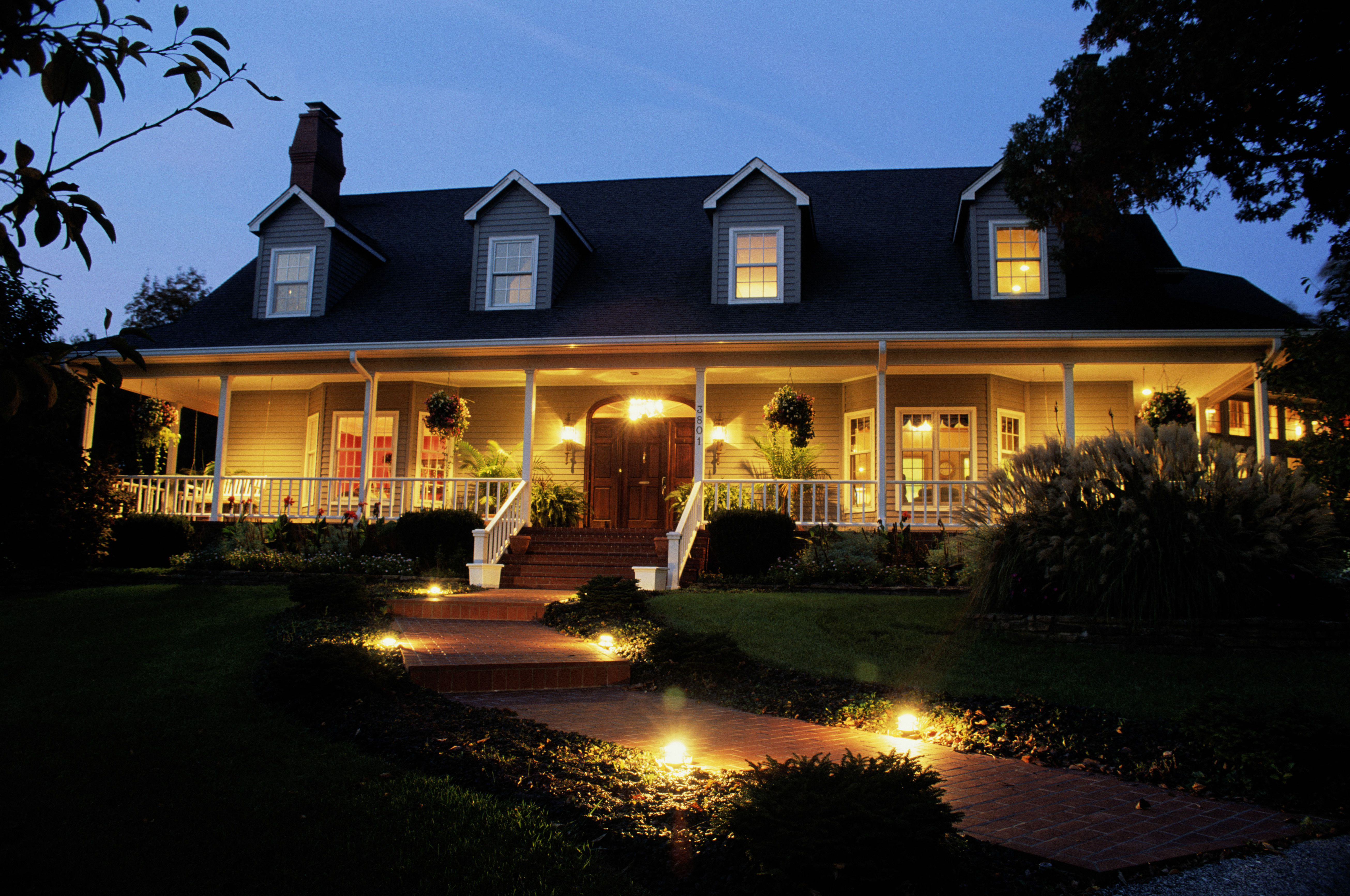 Landscape Path Lights Basics Of Line Vs Low Voltage Systems Outdoor Light Fixture Kills Everything On Circuit Electrical Diy