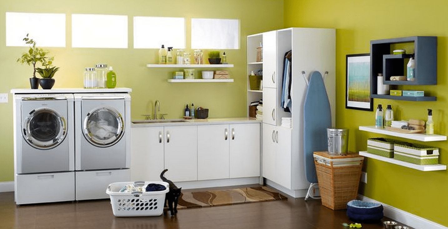 awesome laundry room color ideas. Black Bedroom Furniture Sets. Home Design Ideas