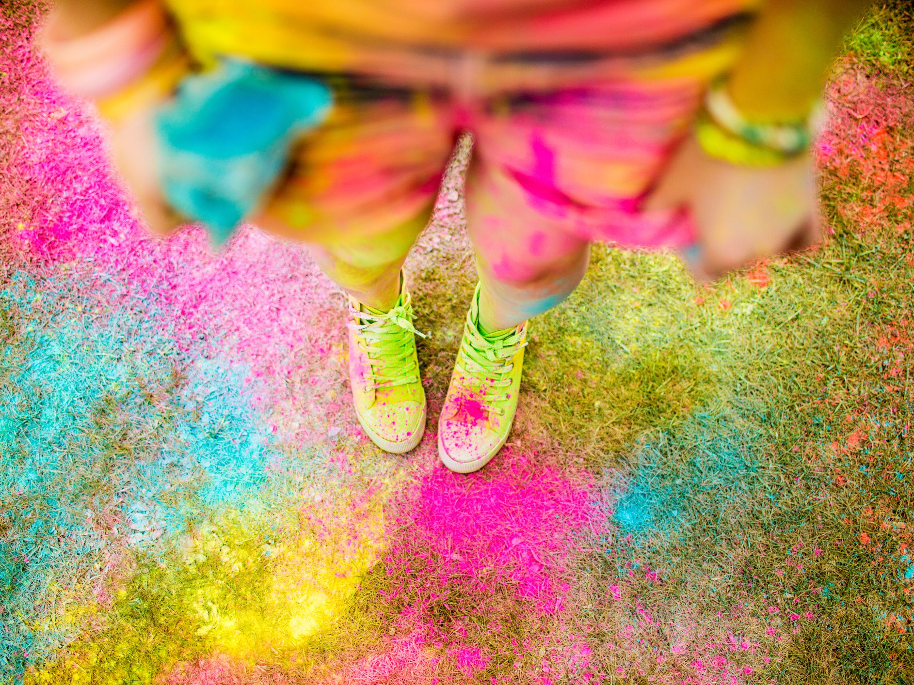 How To Throw A Color Powder Party For Kids