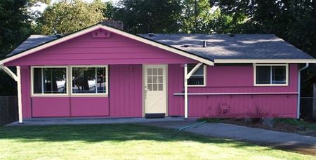 Exterior Paint Color Schemes Shockingly Cheerful
