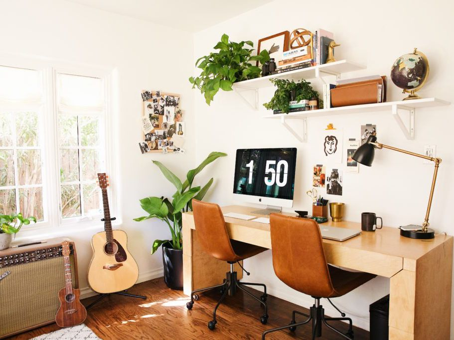 square wall deor.htm small home office ideas that are surprisingly stylish  small home office ideas that are