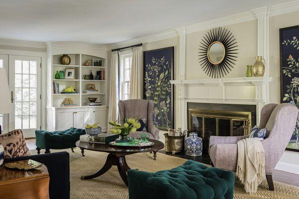KT2 Design Group purple room