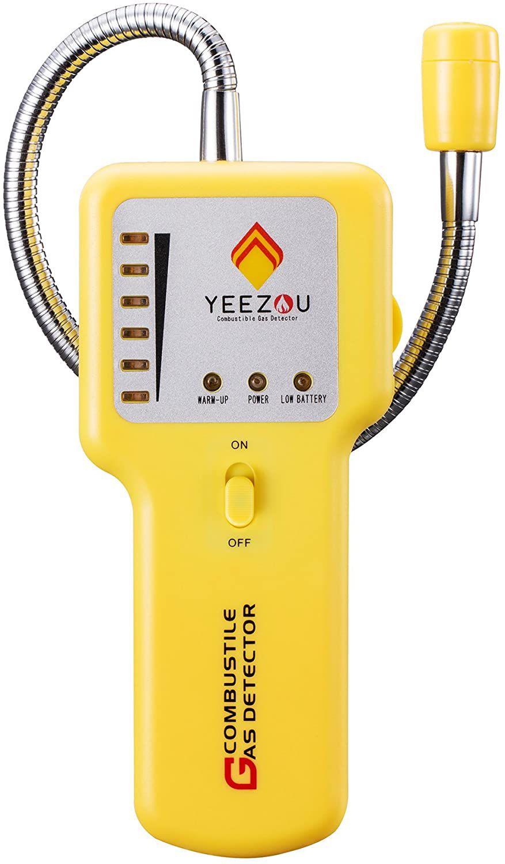 Techamor Portable Methane Propane Combustible Natural Gas Leak Sniffer Detector