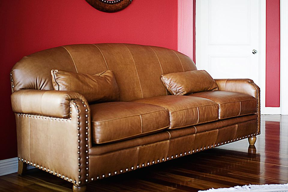 Couch in a living room
