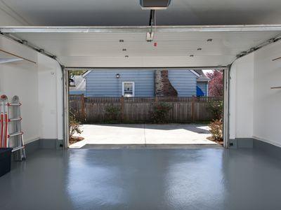 Clean garage