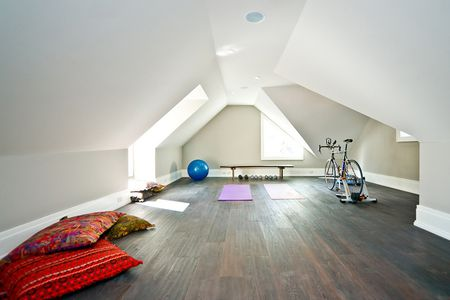 Creative home gyms ideas