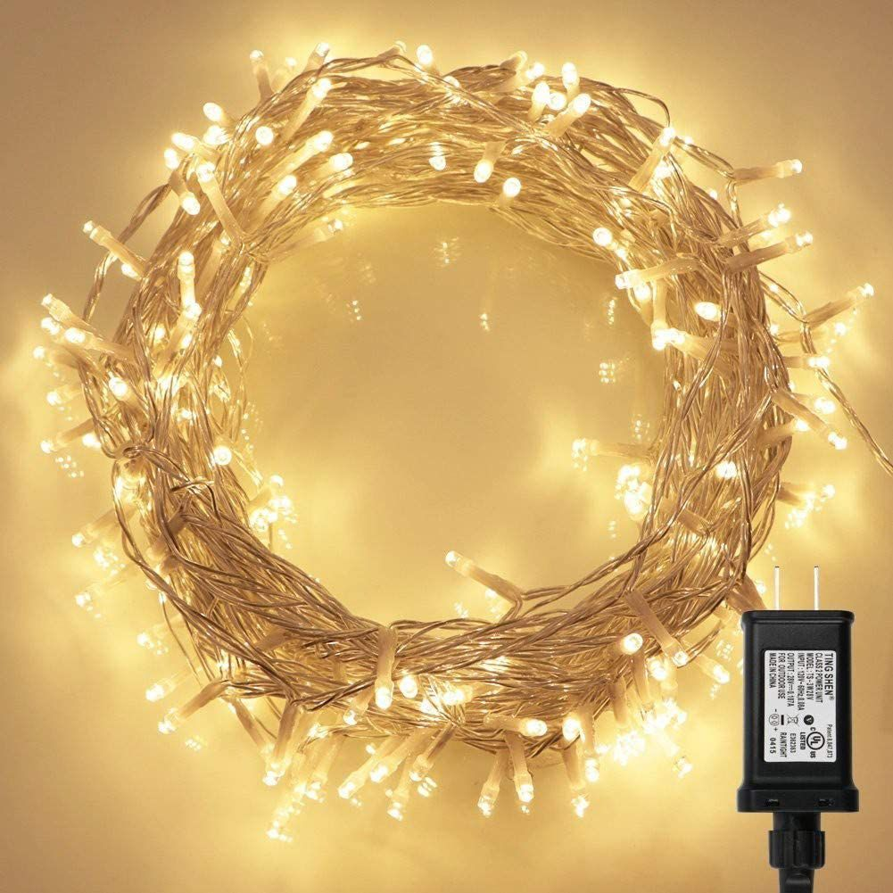 KooPower 200 LED Indoor String Light with Remote and Timer