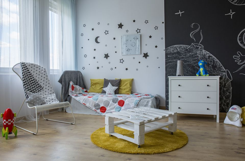 Bring stars into a child room