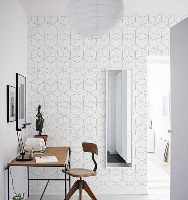Oficina en casa suave y sutil