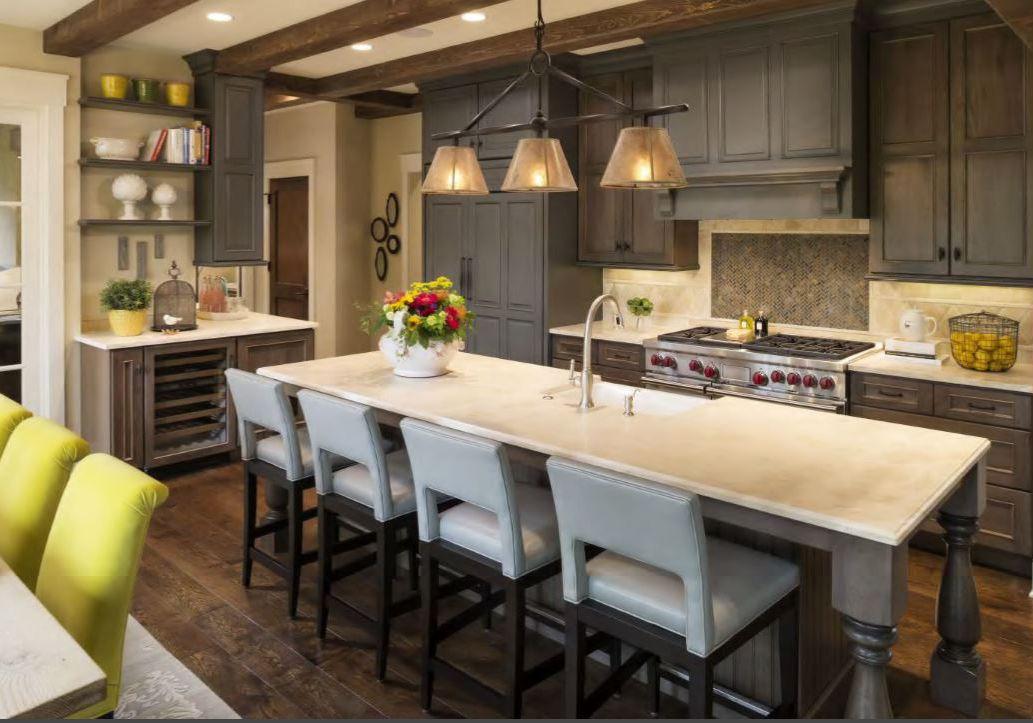 a28769b47ae 10 Stylish Kitchens With Limestone Countertops