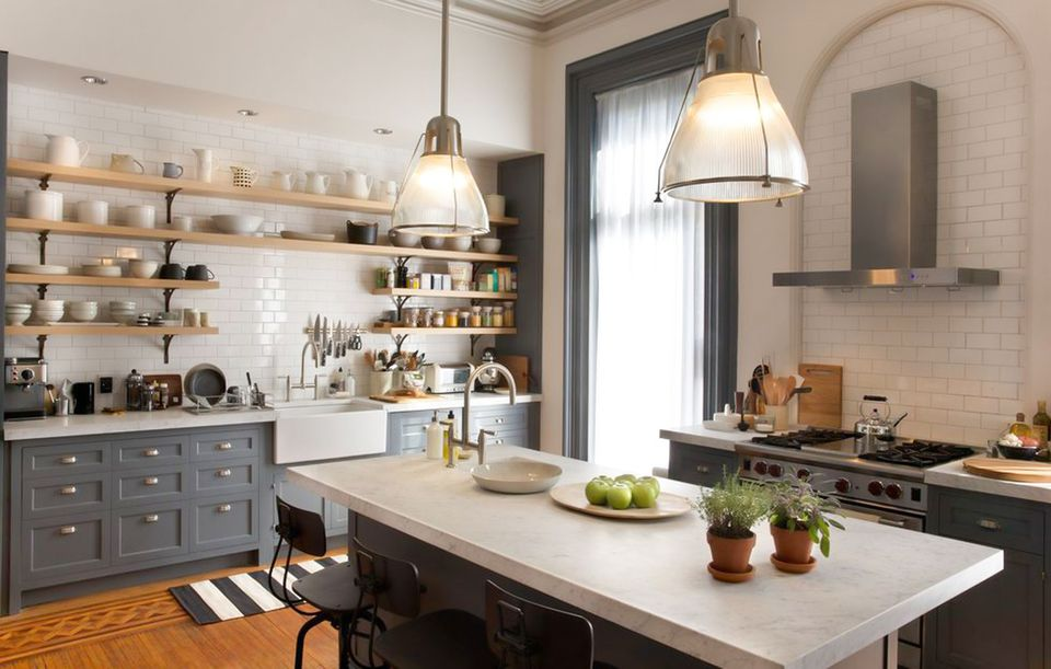 Nancy Meyers' kitchen set in The Intern