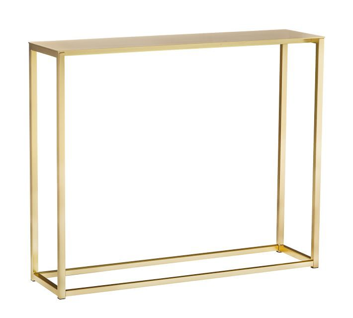 Pottery Barn Hoffman Metal Console Table