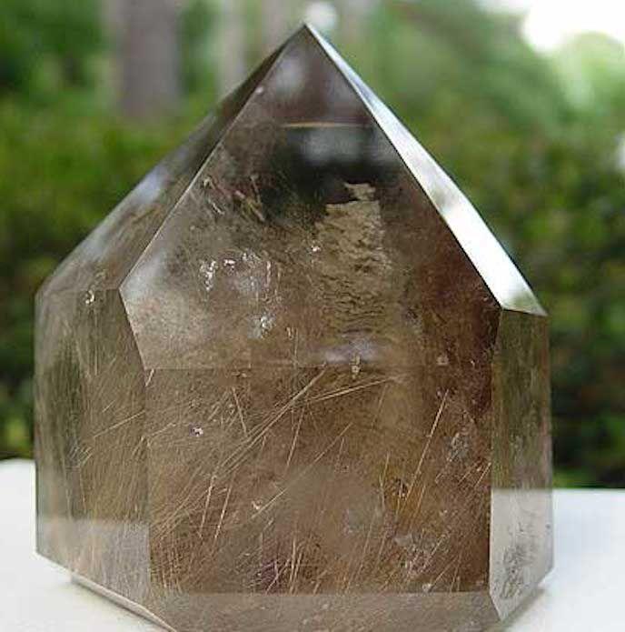 Smoky quartz crystal properties
