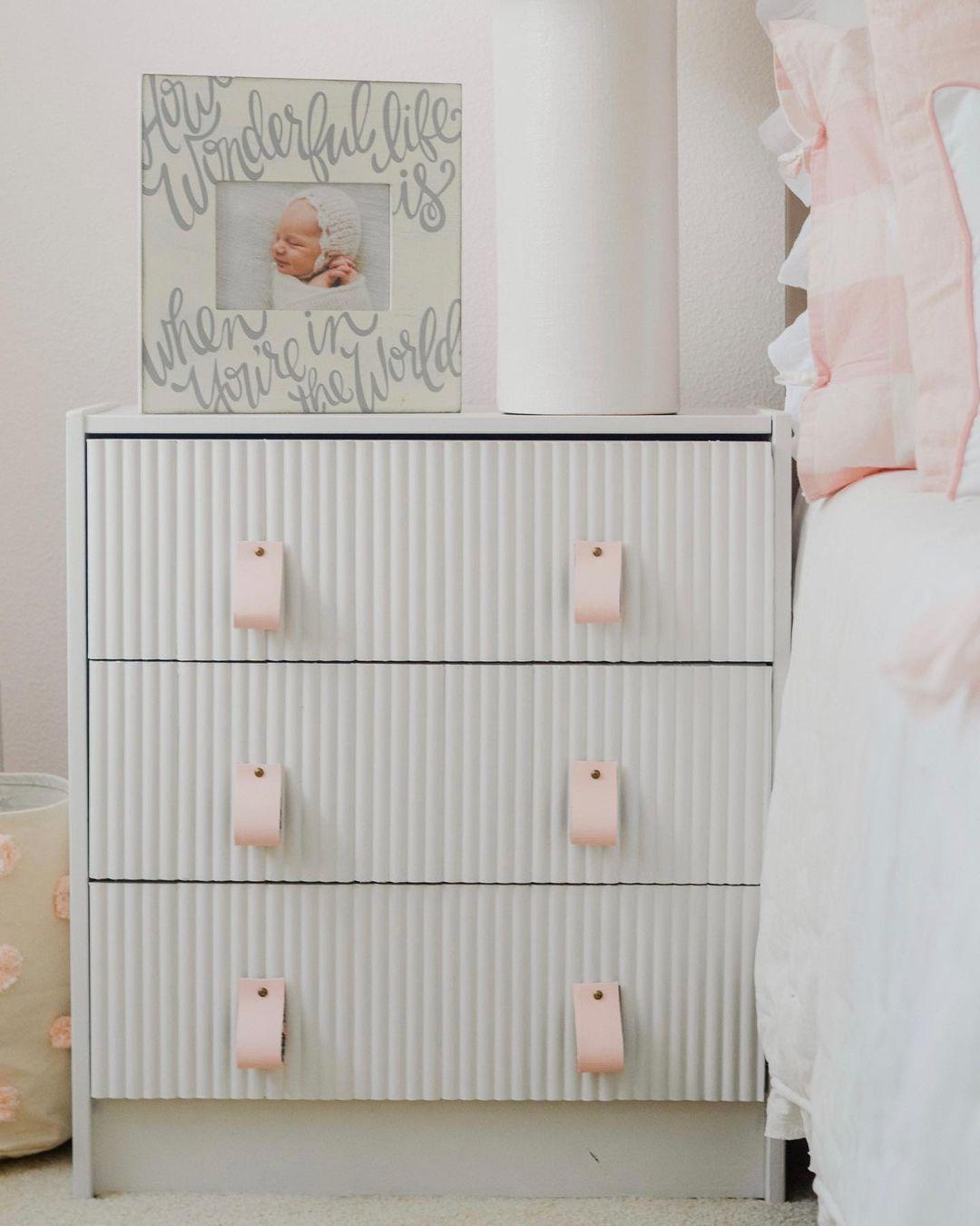 Dresser for a little girl's room