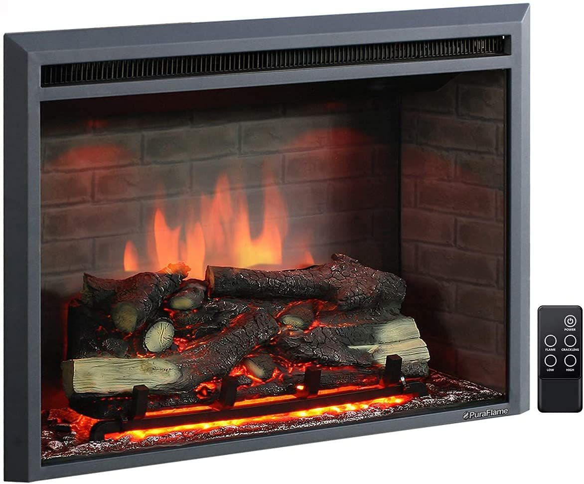 PuraFlame Western Electric Fireplace Insert