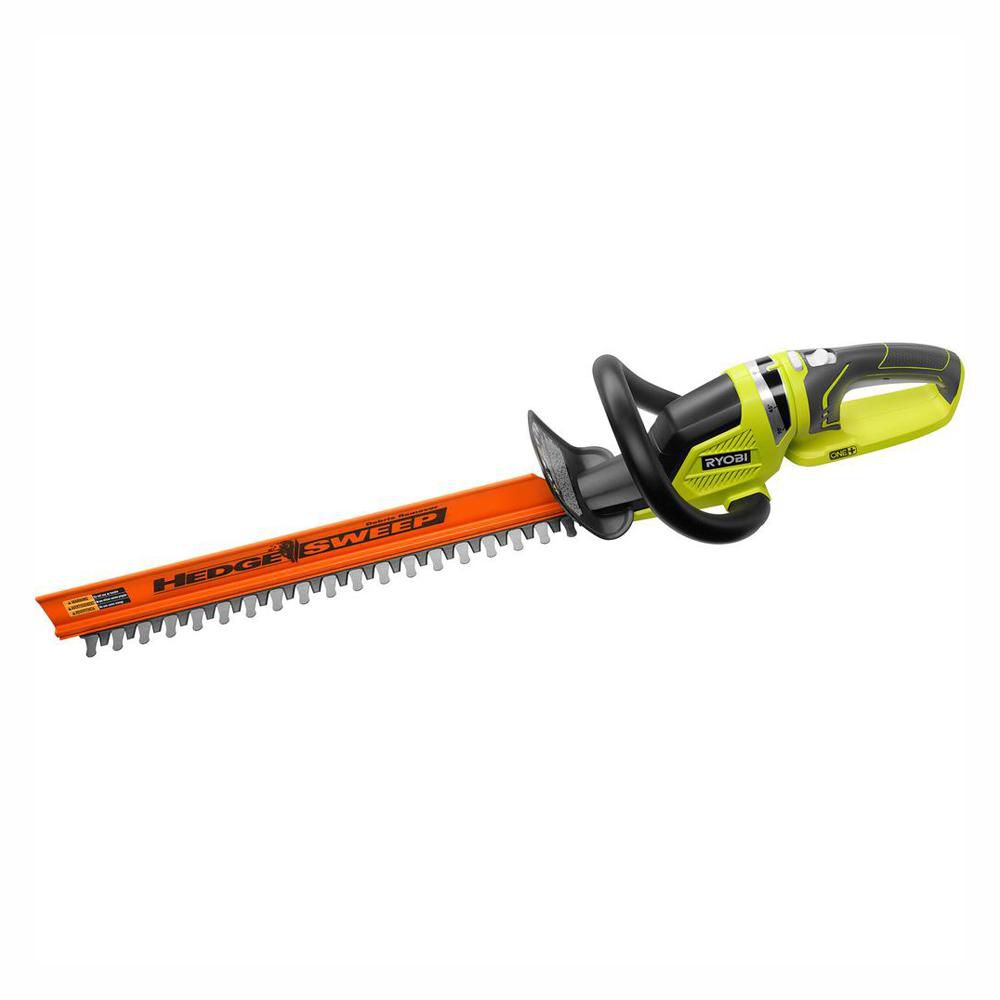 RYOBI ONE+ Lithium+ 22 in. 18-Volt Lithium-Ion Cordless Hedge Trimmer