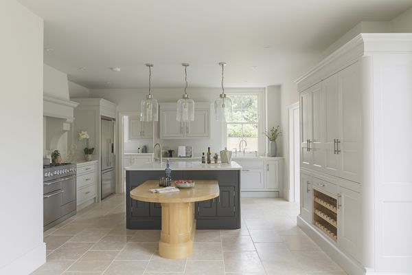 Kitchen in new build luxury house