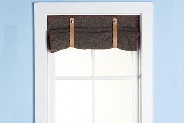 black thermal window shades