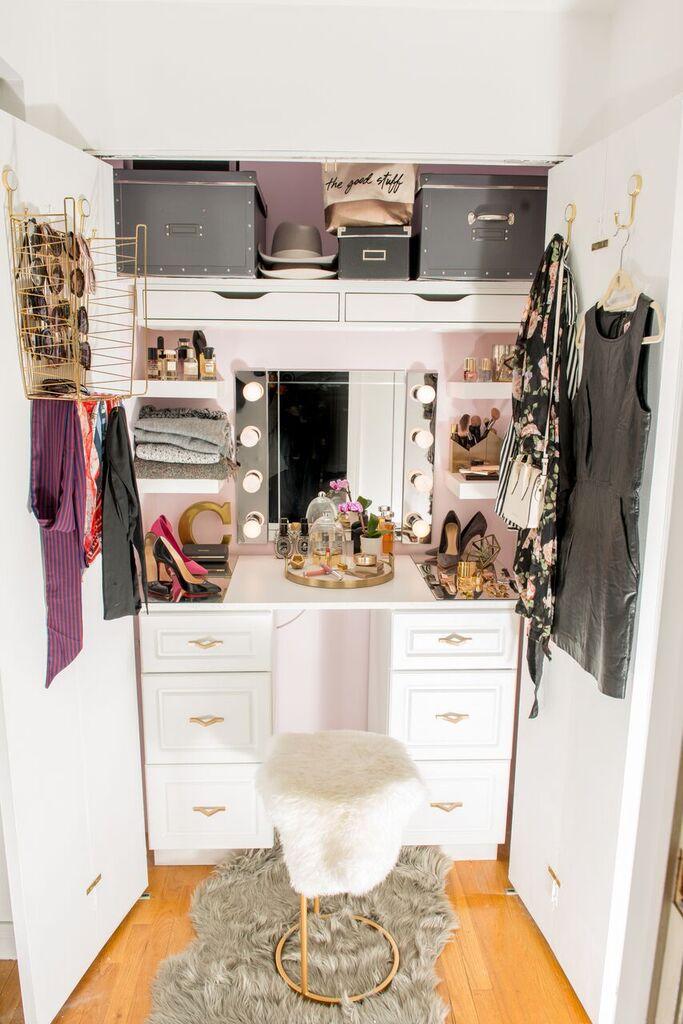 Pon todo de nuevo en tu armario