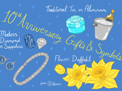 Your Complete Guide To 10th Wedding Anniversaries Gift Ideas