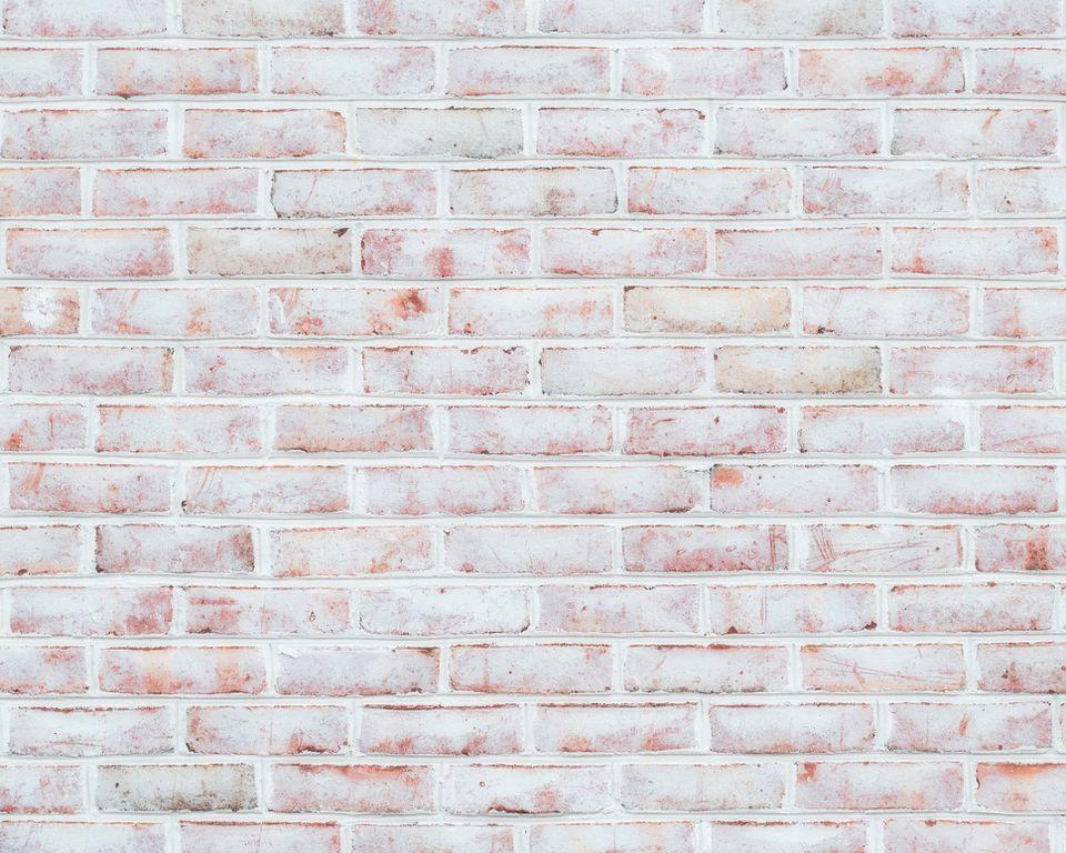 Whitewashed Brick