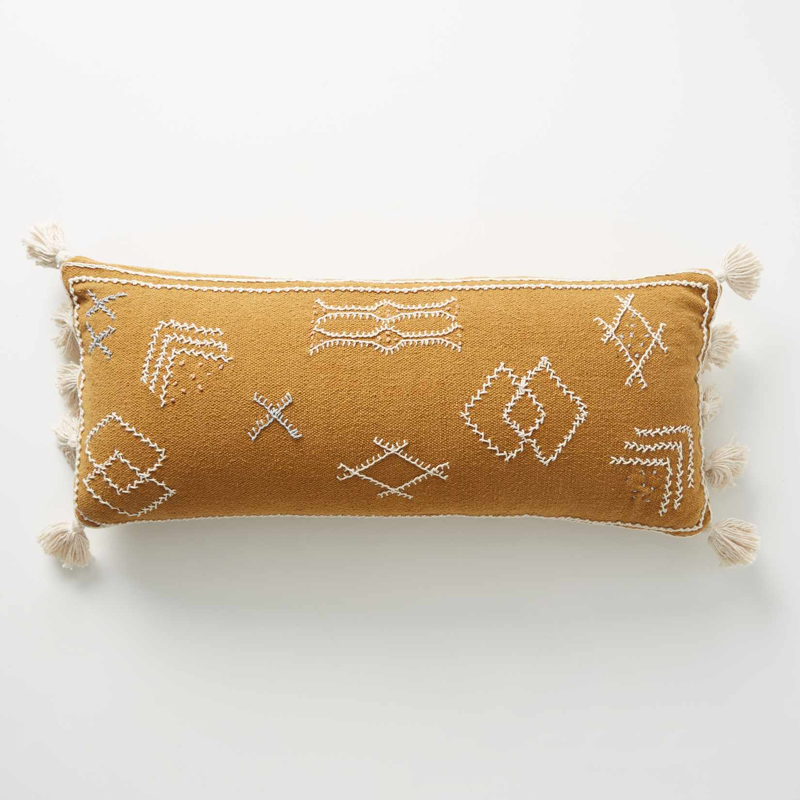 Sadie Pillow in Ochre