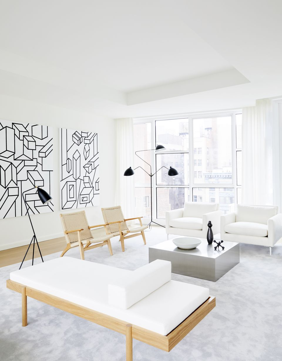 Ultra Modern Living Rooms For Hospitable Homeowners: House Tour: Ultra Modern Living In Greenwich Village