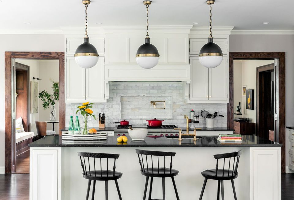 15 Modern White Kitchens