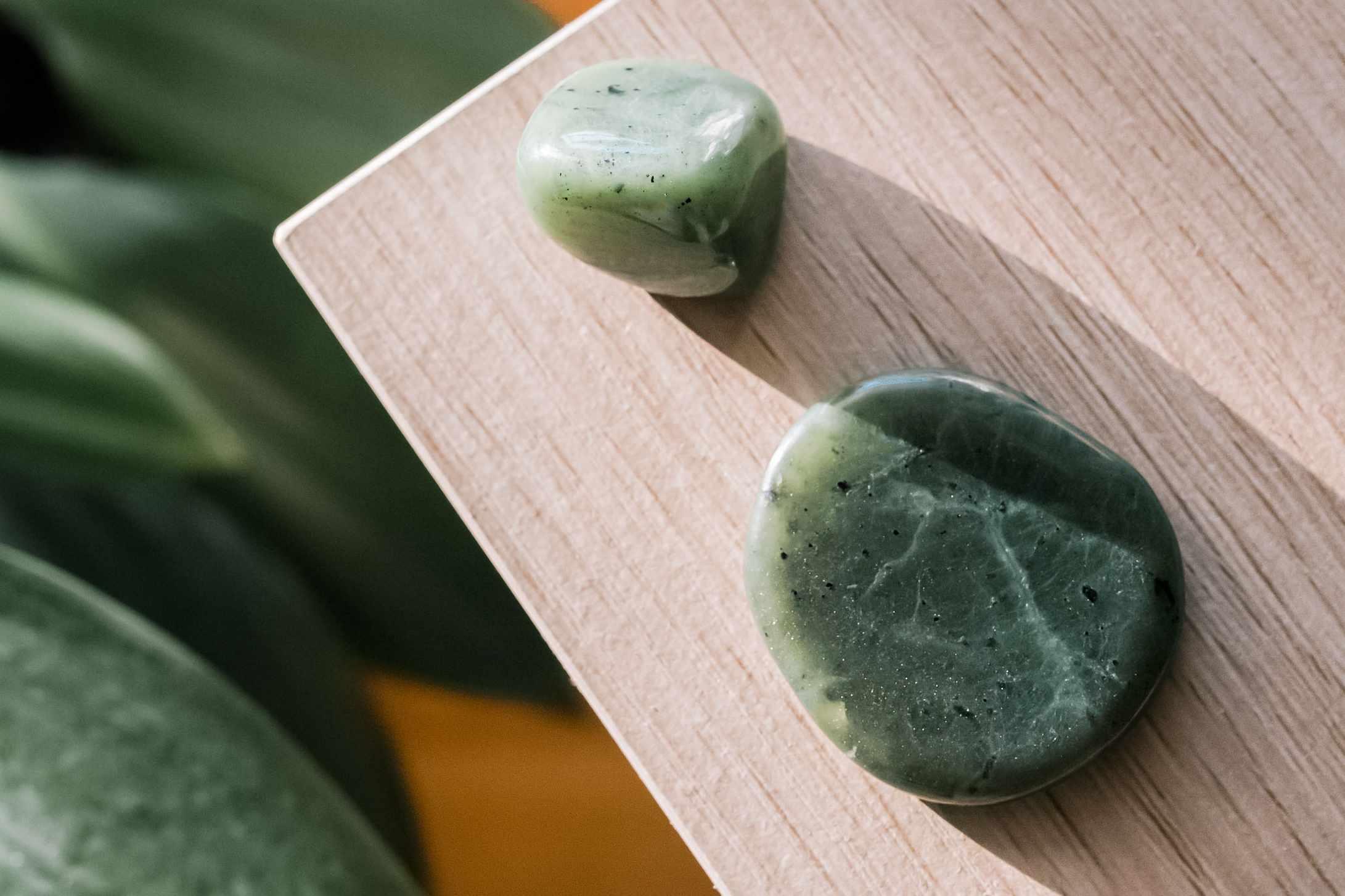 jade stone duo