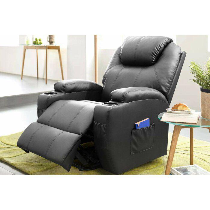 Three Posts Reclining Full Body Massage Chair