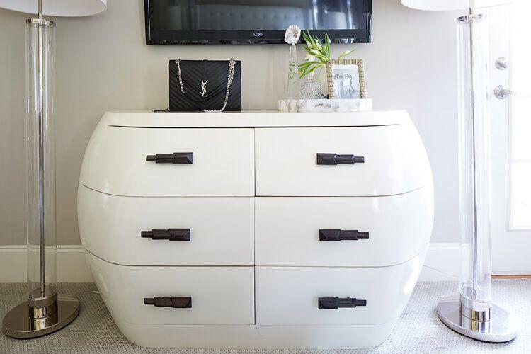 Art Deco inspired bedroom dresser