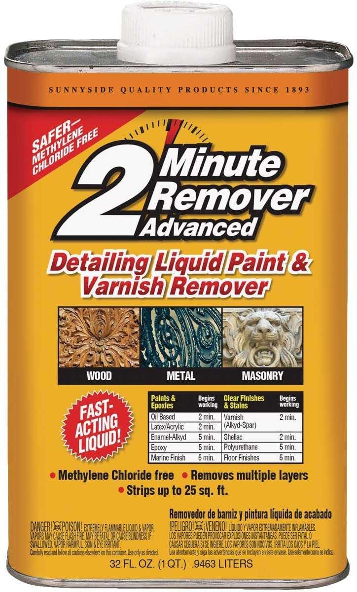 2 Minute Remover Advanced Detailing Liquid
